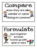 Assessment Vocabulary Words