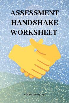 Assessment Handshake Worksheet