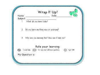 Assessment - Wrap It ALL Up!