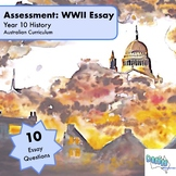 Assessment - Year 10 History - WWII Essay