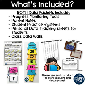 Assessment and Data Packet BUNDLE