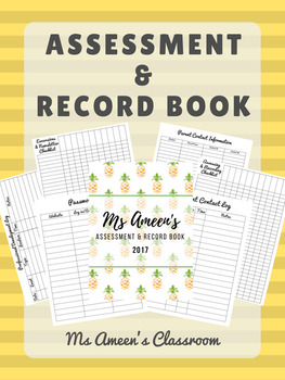 Assessment and Record Book - Printer Friendly