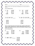 Assessment for 2.NBT.6 and 2.NBT.7