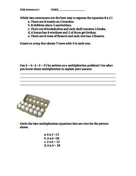 Assessment for 3.OA