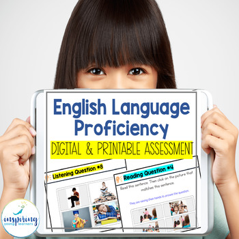 Assessment for English Language Proficiency for ELL Newcomers
