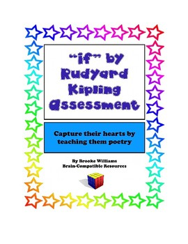"Assessment for ""If"" by Rudyard Kipling"