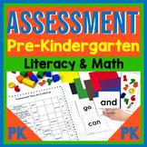 Assessment for Prekindergarten {Literacy and Math}