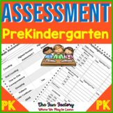 Preschool Assessment | Literacy and Math | Back to School | Midyear Assessment