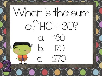 Assessment for the Common Core: Addition & Subtraction, not Spooky Any More