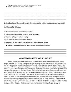 Assessment pack fourth grade
