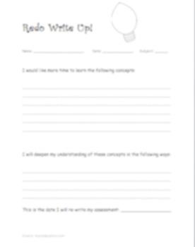 Assessment/Assignment Re-Write