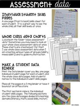 Assessments for Preschool, Pre-K, and Kindergarten