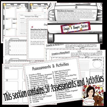 Assessments, Activities, Scoring Guides - All Subjects Middle & High School
