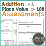 Assessments- Adding with Tens and Ones to 100- Topic 10