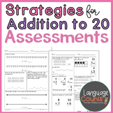 Assessments- Addition Strategies to 20- Topic 3