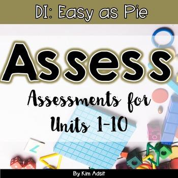 Assessments DI Easy as Pie Math Series