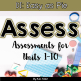 Assessments DI Easy as Pie Math Series