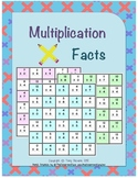 Assessments: Multiplication Facts (0-12)