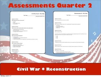 Assessments Quarter 2