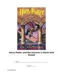 Assessments for Harry Potter and the Sorcerer's Stone