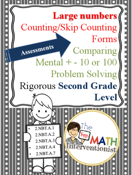 Assessments for Numbers to 1,000 and Operations with Numbers to 1,000