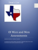 Assessments for Of Mice and Men