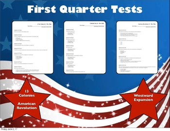 Assessments Quarter 1