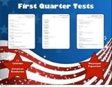 Assessments Quarter 1