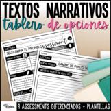 Assessments de lectura textos narrativos | Spanish Narrati