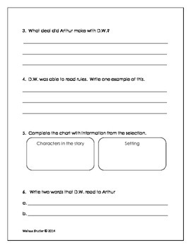 Storytown Assessments to accompany a textbook series Grade 2 Theme 1