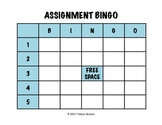 Assignment Bingo