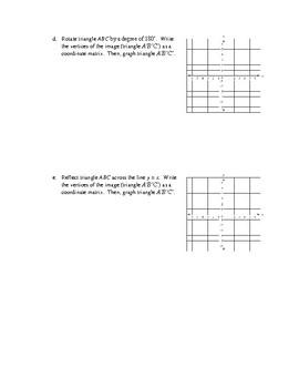 Assignment Bundle: Advanced Matrix Operations and Applications