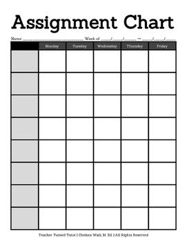 Assignment Chart