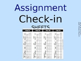 Assignment Check-in