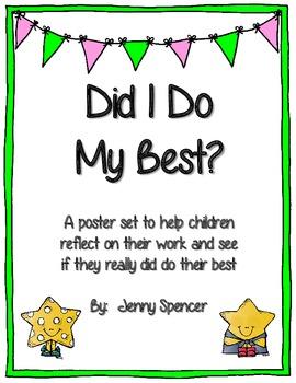 Assignment Checklist Poster Set