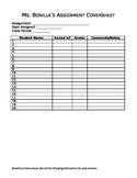 Assignment Coversheet
