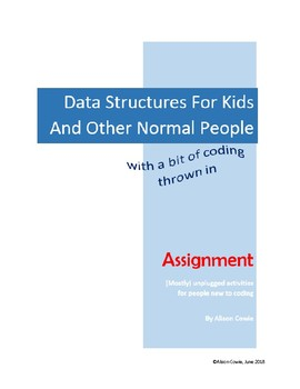 Assignment (DS for Kids aONP)