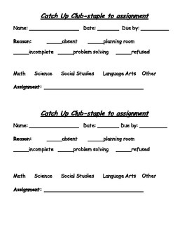 Assignment Helper-Catch Up Club!