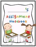 Assignment /Homework Notebook