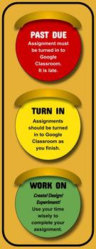 Assignment Light ( for use with Google Classroom )