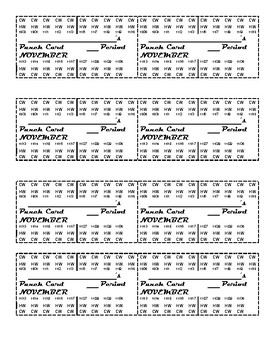 Assignment Punch cards