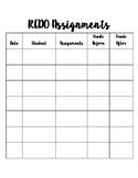 Assignment Redo Checklist