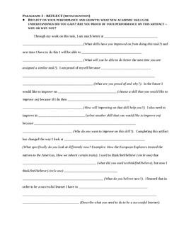 Assignment Reflection Template