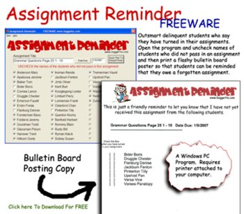 Assignment Reminder for Windows PC (Softtware)