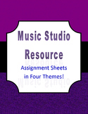 Assignment Sheets for Private Music Lessons