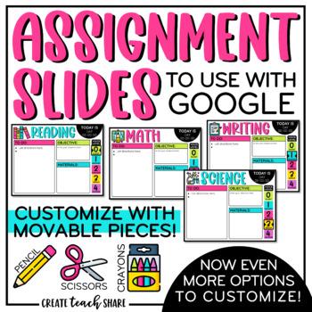 Assignment Slides