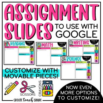 Assignment Slides   Use With Google Slides