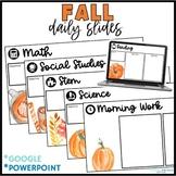 Assignment Slides - Fall