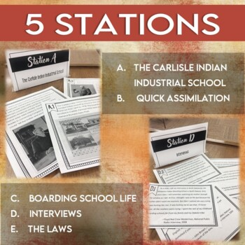 Assimilation of Native Americans: Indian Boarding Schools (STATIONS)