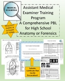 Assistant Medical Examiner Training Program PBL! For Anatomy or Forensics!